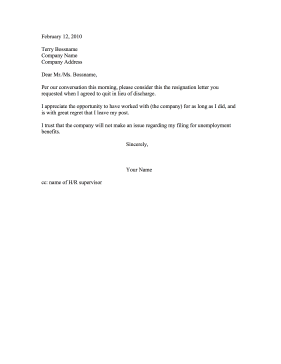 how to write a professional letter of resignation
