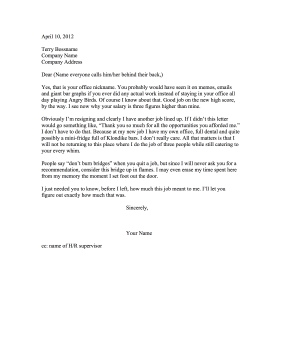 Funny resignation letter expocarfo