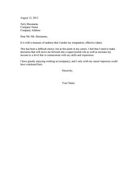 Resignation Letter Might Reconsider Resignation Letter